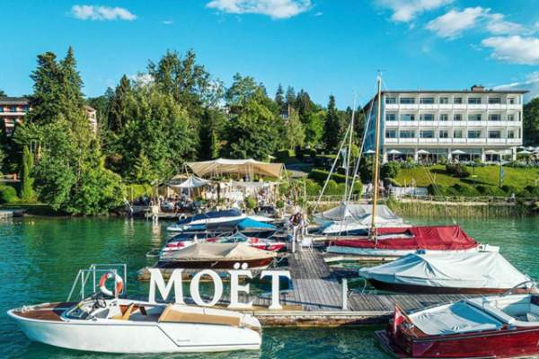 Moët & Chandon Summer Residence im Lifestyle-Hotel am Wörthersee